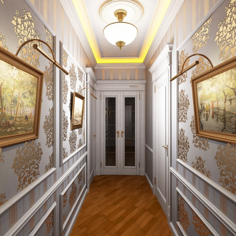 Красивые коридоры в квартирах фото