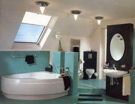 Стили интерьера ванных комнат ванная