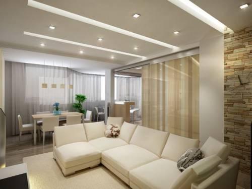 Интерьеры комнат гостиных