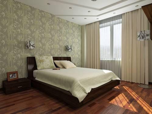В восточном стиле интерьер спальни в