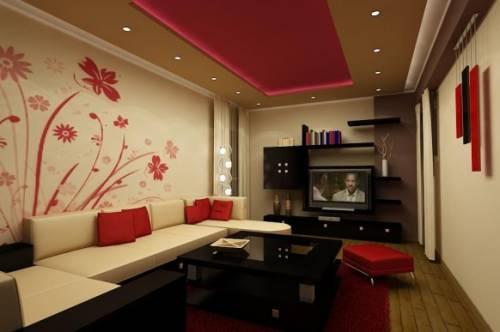 Интерьер и дизайн гостиной 18 кв м