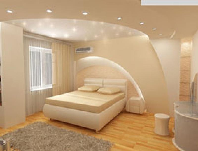 Ремонт потолка в спальне своими руками советы